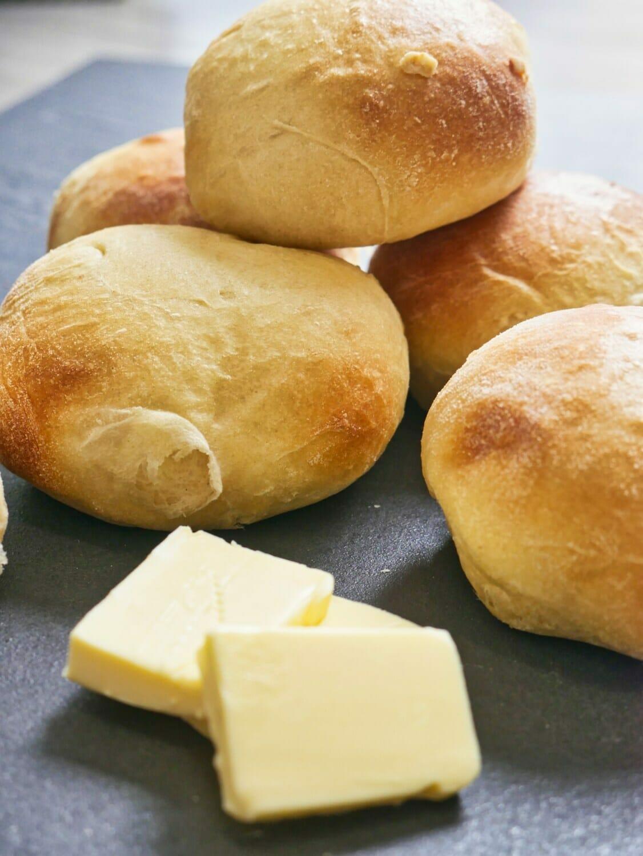 Breadmaker Brioche Bun Recipe via @nofusskitchen