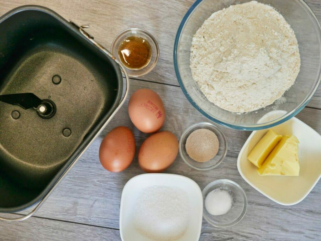 brioche buns ingredients