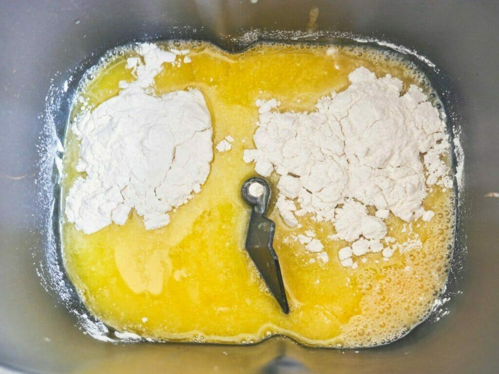 brioche bun ingredients in breadmaker