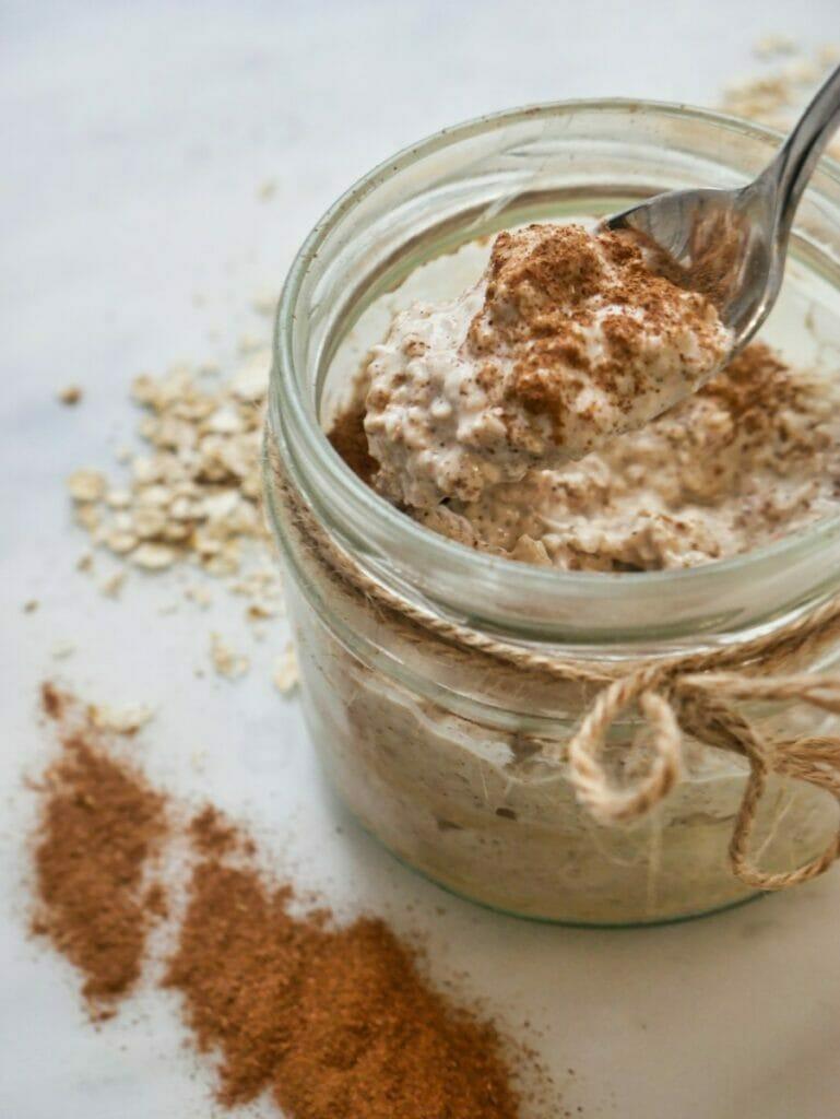 spoonful of cinnamon overnight oats