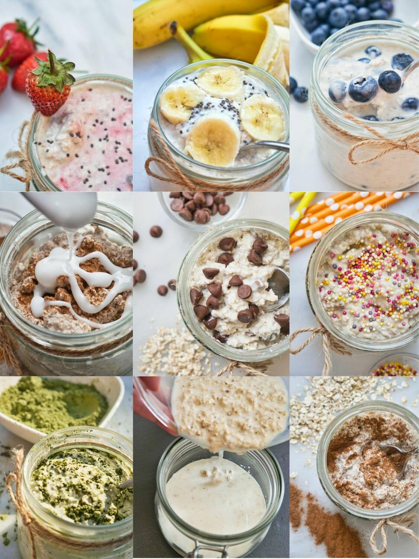 16 Best Overnight Oats Recipes via @nofusskitchen